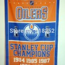 Edmonton Oilers Stanley Cup Champions Flag 3ft x 5ft Polyester NHL Banner Flying flag