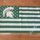 Michigan State Spartans Nation Flag 3ft x 5ft Polyester NCAA Banner Flying Custom flag