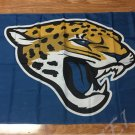 Jacksonville Jaguars logo car flag 12x18inches 30x45cm double sided 100D Polyester
