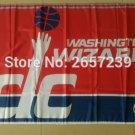 Washington Wizards Flag 3x5 FT 150X90CM Banner 100D Polyester NBA flag