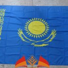 Kazakhstan National Flag 3x5ft 150x90cm 100D Polyester