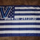 Villanova Wildcats with strats and stripes Flag 3ft x 5ft Polyester Banner 90x150cm