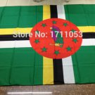 DominicaNational Flag 3x5ft 150x90cm 100D Polyester