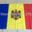 Moldova National Flag 3x5ft 150x90cm 100D Polyester