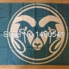 Colorado State Rams Flag 3ftx5ft Banner 100D Polyester NCAA Flag
