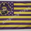 East Carolina Pirates Nation Flag 3ft x 5ft Polyester NCAA banner