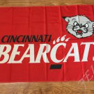 Cincinnati Bearcats Flag 3ftx5ft Banner 100D Polyester NCAA Flag style 3