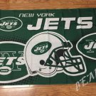 New York Jets Helmet Flying Flag Banner flag 3ft x 5ft 100D Polyester 90x150cm