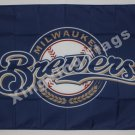 Milwaukee Brewers Flag 3ft x 5ft Polyester MLB Banner Flying flag