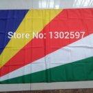 Seychelles National Flag 3x5ft 150x90cm 100D Polyester