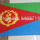 EritreaNational Flag 3x5ft 150x90cm 100D Polyester