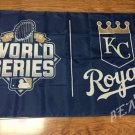 Kansas City Royals world series Flag 3x5 FT 150X90CM Banner 100D Polyester flag 2 metal grommets
