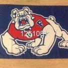 Fresno State Bulldogs Helmet Flag 3ftx5ft Banner 100D Polyester NCAA Flag