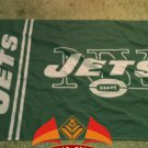New York Jets NFL car flag 12x18 inches 30x45cm double sided 100D Polyester style 1