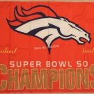 Denver Broncos Super Bowl Champions Flag 3ft x 5ft Polyester flag metal grommets