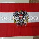 Austria National Flag 3x5ft 150x90cm 100D Polyester