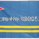 Aruba National Flag 3x5ft 150x90cm 100D Polyester