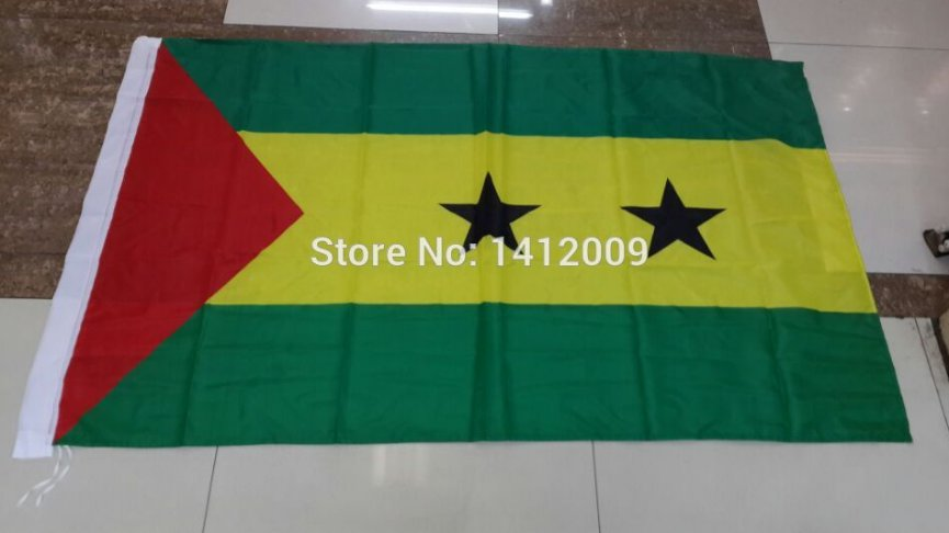 Sao Tome and Principe National Flag 3x5ft 150x90cm 100D Polyester