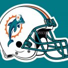 Miami Dolphins PHelmet logo car flag 12x18 inches double sided 100D Polyester NFL
