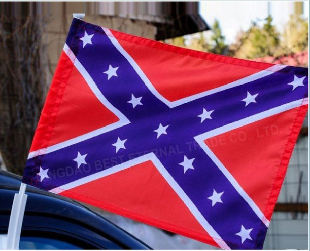 BEST FLAG -confederate-car-flag