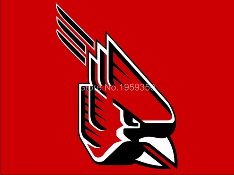 Ball State Cardinals flag 3ftx5ft Banner 100D Polyester NCAA Flag