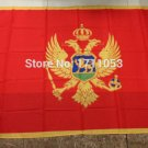 Montenegro National Flag 3x5ft 150x90cm 100D Polyester