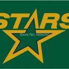 Dallas Stars Flag 3FT x5 FT 150X90CM Banner 100D Polyester NHL flag style 2