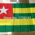 Togo National Flag 3x5ft 150x90cm 100D Polyester