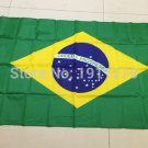 Brazil National Flag 3x5ft 150x90cm 100D Polyester Banners Free Shipping