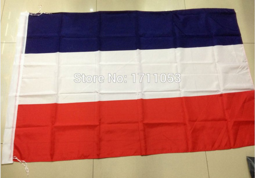 YugoslaviaNational Flag 3x5ft 150x90cm 100D Polyester