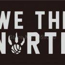 Toronto Raptors NBA We The North Black Basketball 3x5 Feet Flag Wall Hanger