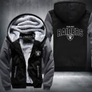 Oakland Raiders Zipper Jacket Thicken Hoodie Coat Clothing Casual USA Size