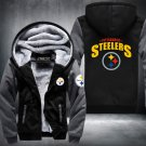 Pittsburgh Steelers Zipper Jacket Thicken Hoodie Coat Clothing Casual USA Size