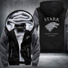 Game of Thrones Stark Zipper Jacket Thicken Hoodie Coat Clothing Casual USA Size