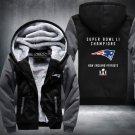 New England Patriots Zipper Jacket Hoodie Coat Clothing Casual USA Size