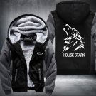House Stark Zipper Jacket Thicken Hoodie Coat Clothing Casual USA Size