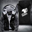 Fairy Tail Hoodies Zip Up Super Warm Thicken Fleece Men's Coat USA plus size