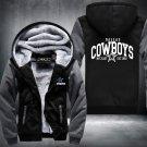 Dallas Cowboys Hoodies Zip Up Super Warm Fleece Men's Coat USA plus size