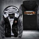 Cincinnati Bengals Hoodies Zip Up Super Warm Thicken Fleece Men's Coat USA plus size