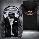 Denver Broncos Hoodies Zip Up Super Warm Thicken Fleece Men's Coat USA plus size