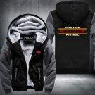 Louisville Cardinals Hoodies Zip Up Super Warm Thicken Fleece Men's Coat US plus size