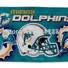 Miami Dolphins flag Helmet Edition banner 3x5ft