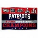 New England Patriots 2016 Super Bowl LI Champions Flag 3x5ft
