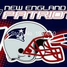 New England Patriots Helmet Flying Flag Banner flag 3ft x 5ft 100D Polyester