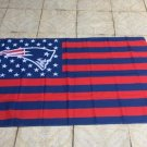 New England Patriots flag 3ftx5ft Banner 100D Polyester Flag metal Grommets