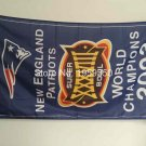 New England Patriots world champions 2003 Flag 3ft x 5ft Polyester