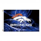 Denver Broncos Flag 3x5 FT Banner 100D Polyester Flag Brass Grommets