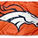 Denver Broncos Flag NFL Flag orange, wild and Broncos blue 3 ft x 5 ft
