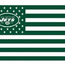 New York Jets US flag with star and stripe 3x5 FT flag