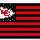 Kansas City Chiefs US flag with star and stripe 3x5 FT banner